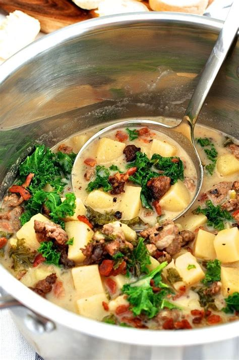 Oven Zuppa Soup s zuppa toscana recipe gardens a well and ovens