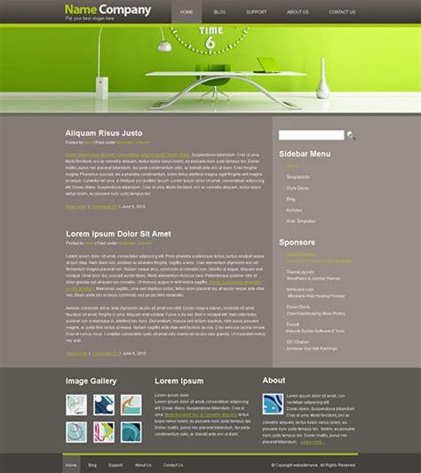 Servicedesk Website Template Web Cufon Corporate Css Templates Dreamtemplate Help Desk Website Template Free