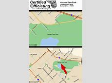 Certified Officiating - Hansen Dam Park map Maps