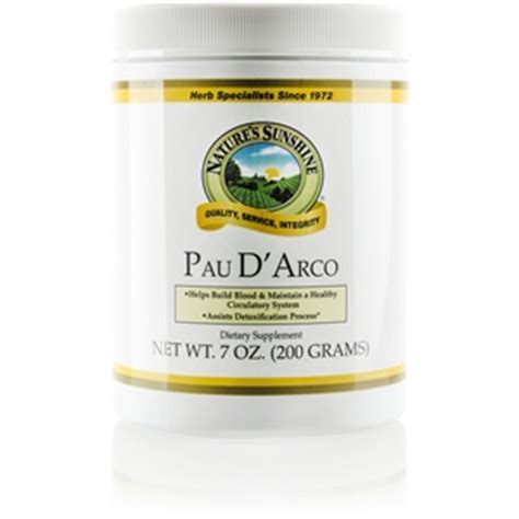 Pau D Arco Detox by Pau D Arco Taheebo Tea 70z Sunshine4health Nature S