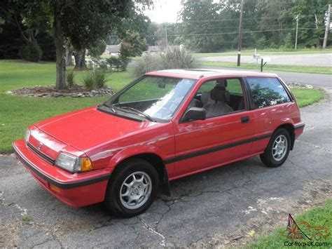 Honda Civic 1987 1987 honda civic si