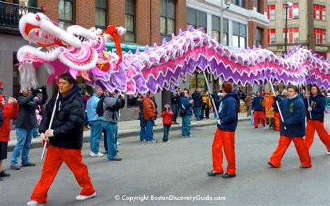 boston chinese  year parade  chinatown event