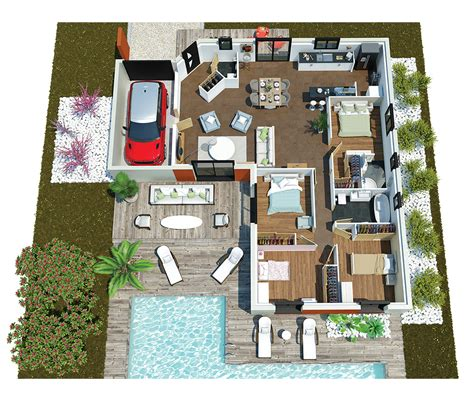 Maison Moderne Minecraft Plan 946 by Ouleurs Villa Vous Propose La Villa Mae Moderne