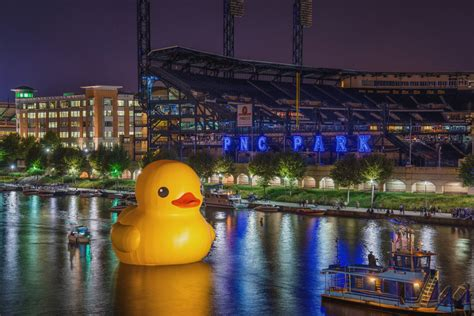 Rubber Duck Pittsburgh Location by Dave Dicello Photography Rubber Duck In Pittsburgh