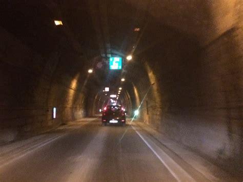 tunnel di tenda a ottobre previsto un nuovo stop alla circolazione