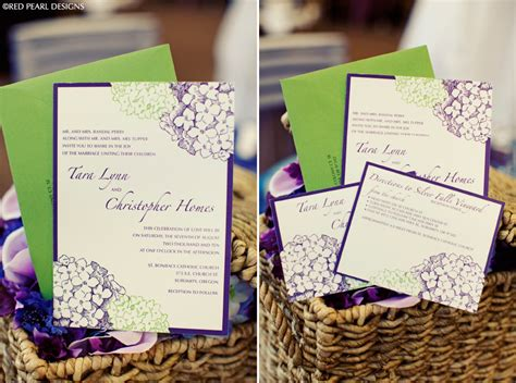 purple and green wedding invitations purple green wedding invitation onewed