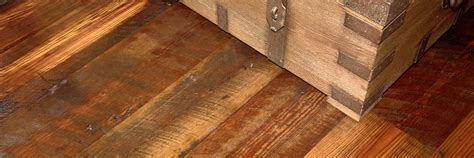 Antique & Reclaimed Heart Pine Hardwood Flooring   Ward