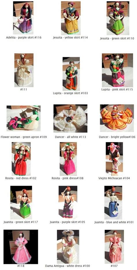 corn husk dolls mexico 70 best images about papel on