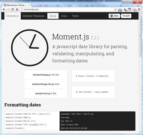 javascript format date based on locale momentjs utc date time browser local time lance