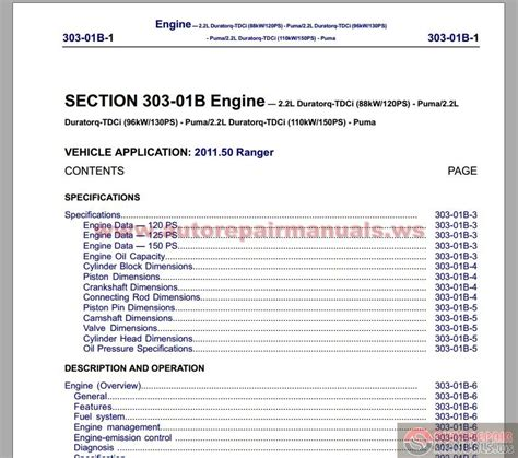 small engine repair manuals free download 2009 ford e150 electronic valve timing ford ranger 2012 workshop manual auto repair manual