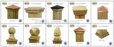 Corbel Moulding Decorative Pressure Treated Pine 4x4 Fence Post Caps Efs