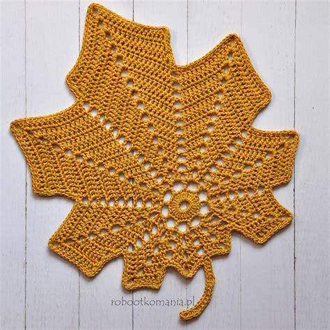 crochet pattern large leaf free crochet leaf patterns crochet now