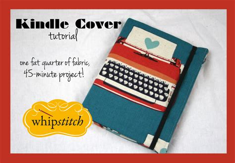 Kindle Tutorial Online | tutorial for the kindle cover and case whipstitch