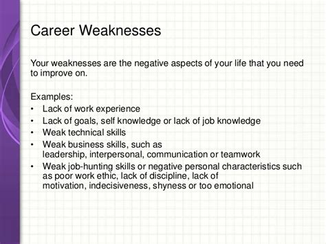 exle of your weakness fancy weaknesses in resume for strength and weakness for resume 25