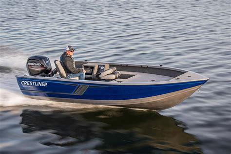 aluminum tiller fishing boats for sale 2016 new crestliner 1650 pro tiller aluminum fishing boat