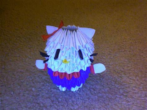 Hello 3d Origami - hello 3d origami by darkipanda on deviantart
