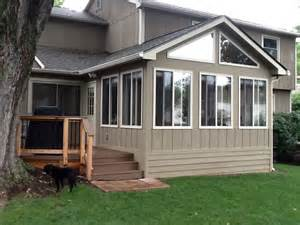 And 4 season rooms columbus decks porches and patios by