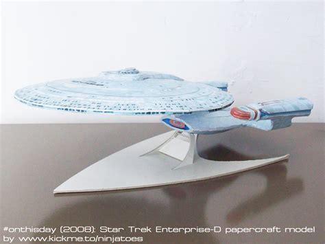 Trek Papercraft - papercraft trek tng enterprise d by