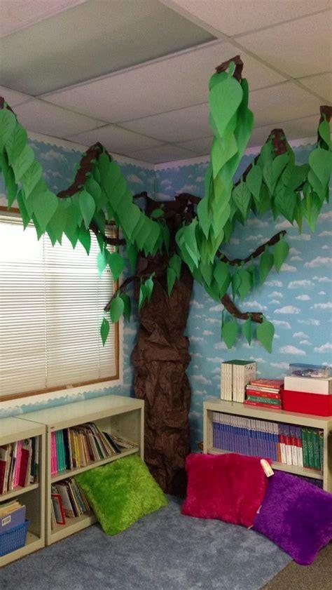 tree idea  reading area tent options attach