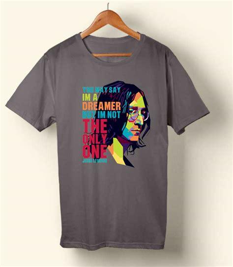 Lenon T Shirt lennon quote t shirt cornershirt