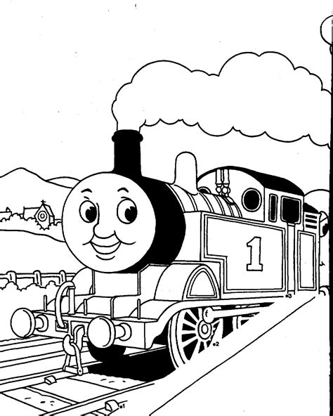 free the tank engine coloring pages