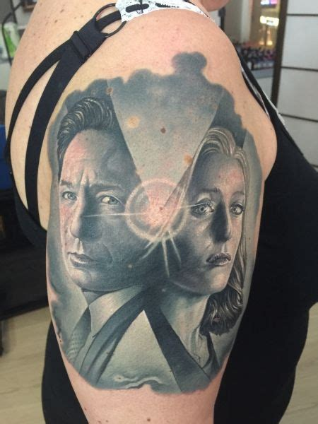 x files tattoos 180 best x files tattoos images on scully