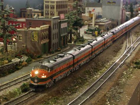 ho model trains images pictures ho train layouts single model train