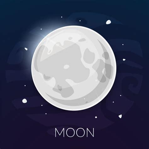 moon vector vector maps free download