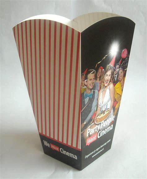 printed popcorn box medium printed popcorn boxes in 3 sizes