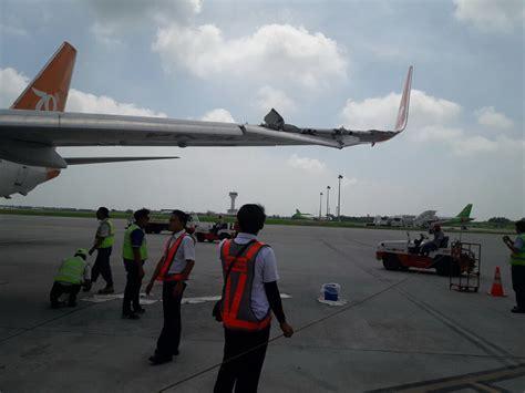 lion air vs wings air pesawat lion air group video lion air dan wings air senggolan 21 penerbangan di