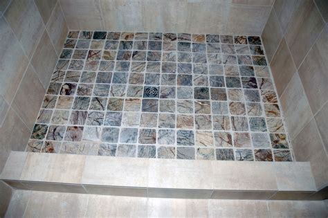 Shower Curb Cap by Brenner Remodeling Tile Work Gallery