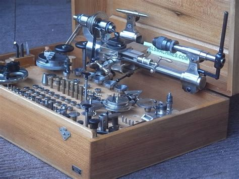 Home Sip sold g boley 8mm boxed watchmaker lathe niels machines