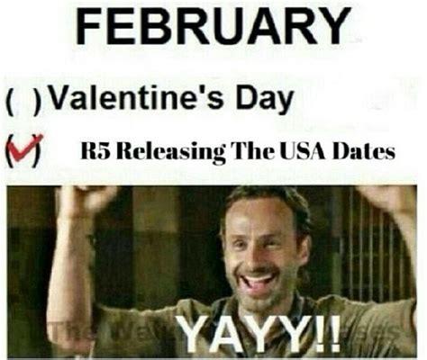 Walking Dead Valentines Day Meme - pin by jesenia on r5 pinterest