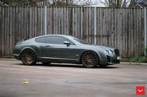 Bentley Continental Gt Supersport Bentley Continental Gt Supersports Struts Its New Shoes