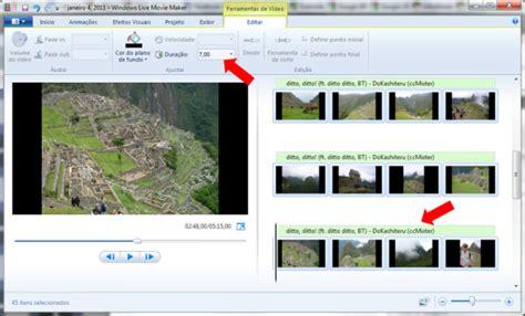 tutorial de como fazer video no windows movie maker como criar v 237 deos com fotos e m 250 sicas no windows live