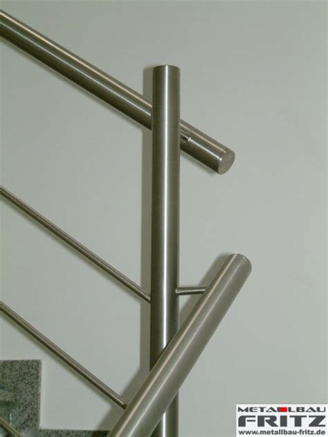 edelstahl treppengeländer innen schlosserei metallbau fritz edelstahl treppengel 228 nder