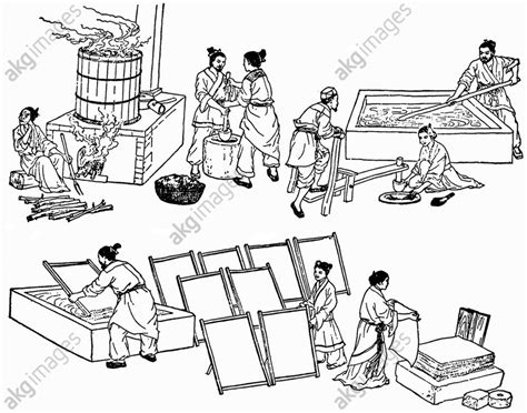 How Did Cai Lun Make Paper - cai lun ts ai lun inventor of paper materials