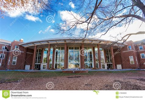 Business School Mba Nc by Farrell At Wfu Editorial Stock Photo Image 47859993