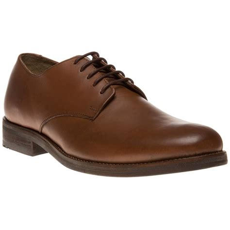 new mens ben sherman arista derby leather shoes lace up