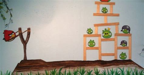angry birds bedroom decor angry birds mural kids bedroom home decor pinterest angry birds bird and bedrooms