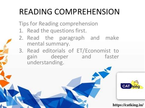 Mba Comprehensive Questions And Answers by Reading Comprehension Tips For Mba Entrance Exams