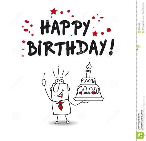 imagenes happy birthday boss happy birthday boss stock vector illustration of office