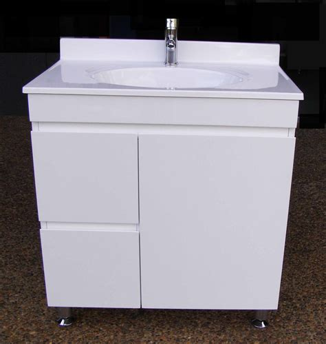 bathroom vanity units on legs 750mm polyurethane vanity unit on legs and finger
