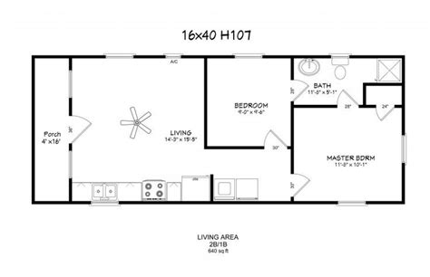 16 X 40 Tiny House Layout Google Search Tiny House House Blueprints Lookup