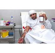 Hamdan Donates Blood Invites People To Join My For