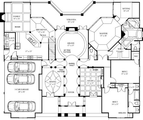 Luxery House Plans by Luxury Home Floor Plans With Pictures Architectural Designs