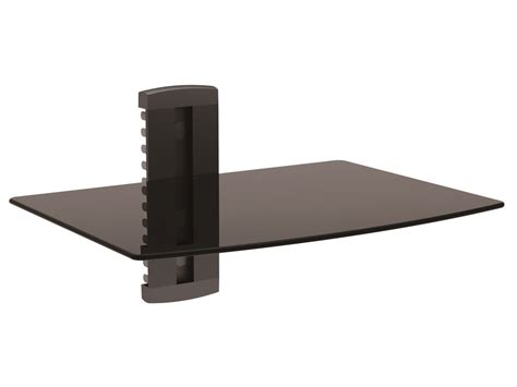 single shelf wall mount for tv components ul certified