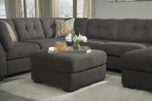 Large Grey Sectional Molly 4pc Right Chaise Sectional Modern Contemporary Gray