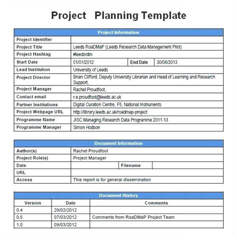 product development project plan template project plan template excel free size of