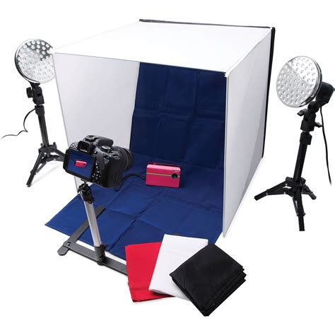 Tabletop Photography Kit by Polaroid Pro Table Top Photo Studio Kit Plpsled B Amp H Photo